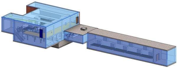 3D measured building model