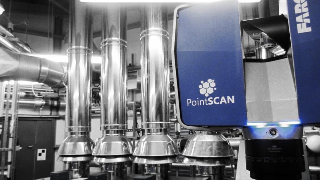 PointSCAN provide accurate onsite BIM data