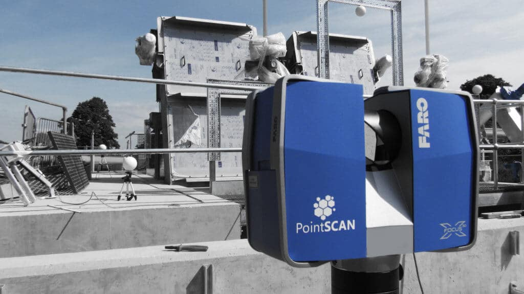 Engineering and fabrication drawings completed bt PointSCAN 3D laser scanning