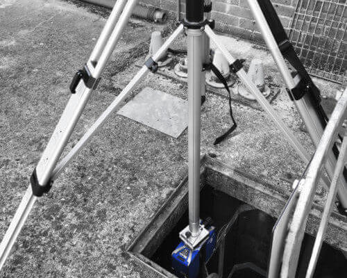 3D laser scanning for confined spaces