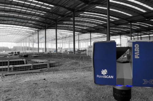 Construction measurement data with PontSCAN 3D laser surveys