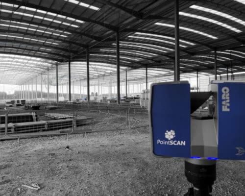 On-site measurement data with 3D laser survey