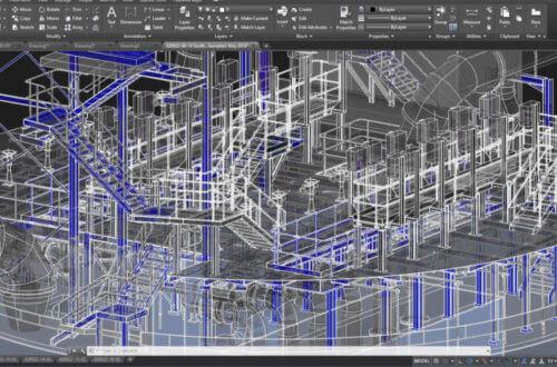 PointSCAN 3D laser survey autoCAD applications